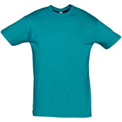 textil Herre T-shirts m. korte ærmer Sols REGENT COLORS MEN Azul