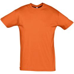 textil Herre T-shirts m. korte ærmer Sols REGENT COLORS MEN Naranja