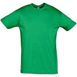 textil Herre T-shirts m. korte ærmer Sols REGENT COLORS MEN Verde