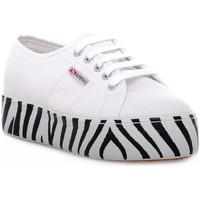 Sko Dame Lave sneakers Superga 901 OUTSOLE LETTERING Bianco