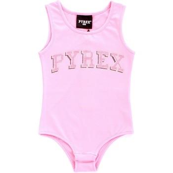 textil Pige Toppe / T-shirts uden ærmer Pyrex 024858 Rosa
