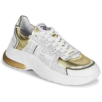 Sko Dame Lave sneakers John Galliano 3646 Hvid / Guld