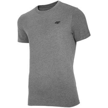 textil Herre T-shirts m. korte ærmer 4F TSM003 Grå
