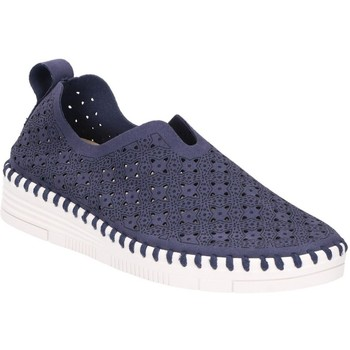 Sko Dame Mokkasiner Softwalk 20V-01-0139  03-0836 navy