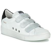 Sko Dame Lave sneakers Semerdjian VIP Hvid / Sølv