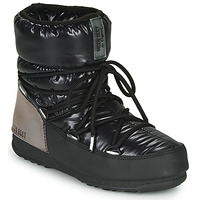 Sko Dame Vinterstøvler Moon Boot MOON BOOT LOW ASPEN WP Sort