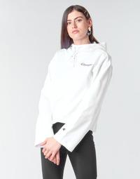 textil Dame Sweatshirts Champion HEAVY COMBED COTTON FLEECE Hvid