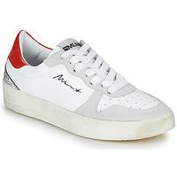Sko Dame Lave sneakers Meline STRA5007 Hvid / Rød