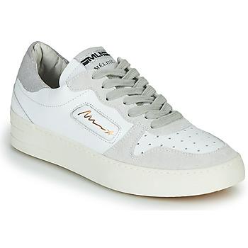 Sko Dame Lave sneakers Meline STRA-A-1060 Hvid / Beige