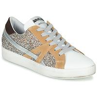 Sko Dame Lave sneakers Meline IN1344 Hvid / Beige / Guld