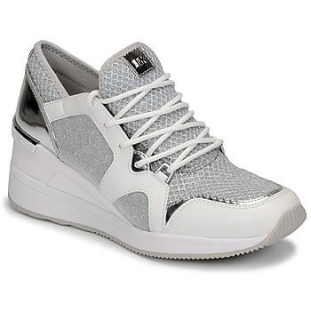 Sko Dame Lave sneakers MICHAEL Michael Kors LIV TRAINER Hvid / Sølv