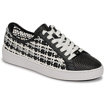 Sko Dame Lave sneakers MICHAEL Michael Kors OLIVIA LACE UP Sort / Hvid