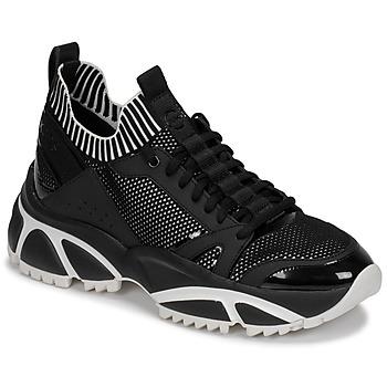 Sko Herre Lave sneakers MICHAEL Michael Kors LUCAS Sort / Hvid