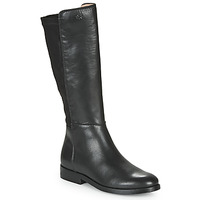 Sko Pige Chikke støvler Acebo's 9864-NEGRO-T Sort