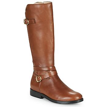 Sko Pige Chikke støvler Acebo's 9863-CUERO-T Brun