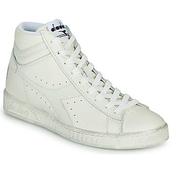 Sko Høje sneakers Diadora GAME L HIGH WAXED Hvid