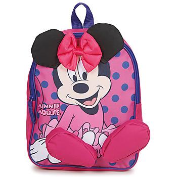 Tasker Pige Rygsække  Disney BACKPACK MINNIE Pink
