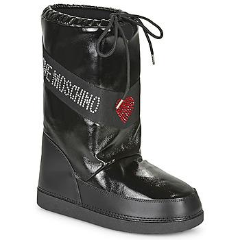 Sko Dame Vinterstøvler Love Moschino JA24022G1B Sort