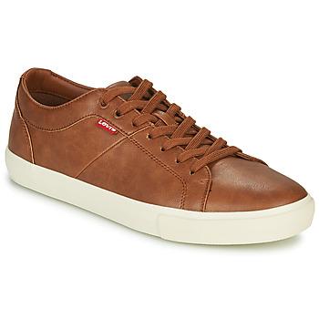 Sko Herre Lave sneakers Levi's WOODWARD Brun