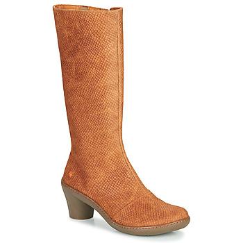 Sko Dame Chikke støvler Art ALFAMA Brun