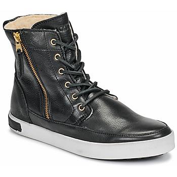 Sko Dame Høje sneakers Blackstone CW96 Sort