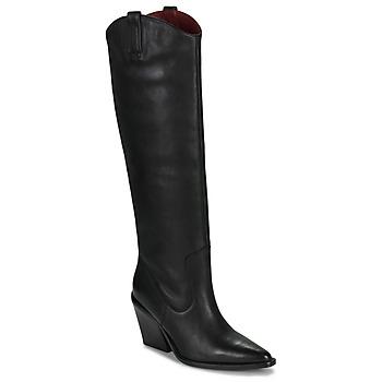 Sko Dame Chikke støvler Bronx NEW KOLE Sort