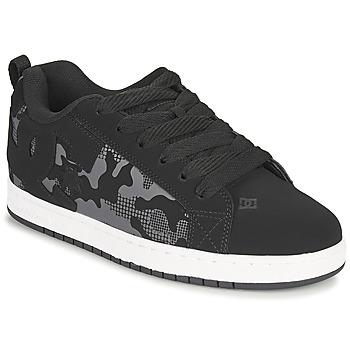 Sko Herre Skatesko DC Shoes COURT GRAFFIK Sort