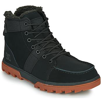Sko Herre Støvler DC Shoes WOODLAND Sort