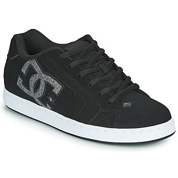 Sko Herre Lave sneakers DC Shoes NET Sort / Grå