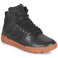 Sko Herre Høje sneakers DC Shoes PURE HIGH TOP WR BOOT Sort