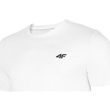 textil Herre T-shirts m. korte ærmer 4F TSM003 Hvid