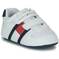 Sko Børn Lave sneakers Tommy Hilfiger  Hvid