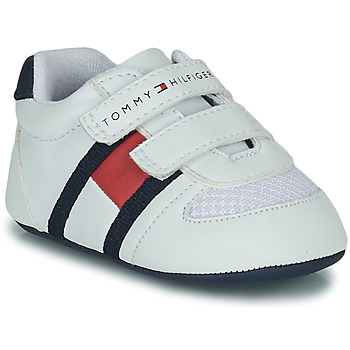 Sko Børn Lave sneakers Tommy Hilfiger T0B4-30191 Hvid