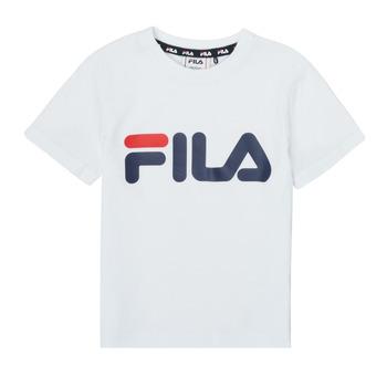 textil Børn T-shirts m. korte ærmer Fila LEA Hvid