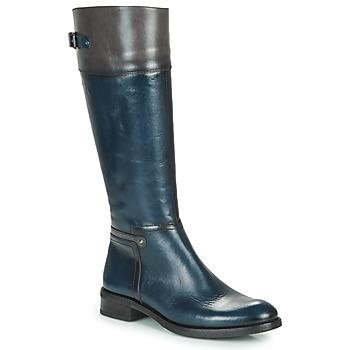 Sko Dame Chikke støvler Dorking TIERRA Blå / Grå
