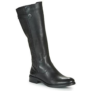 Sko Dame Chikke støvler Dorking TIERRA Sort