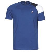 textil Herre T-shirts m. korte ærmer Le Coq Sportif ESS TEE SS N°10 M Blå