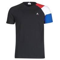 textil Herre T-shirts m. korte ærmer Le Coq Sportif ESS TEE SS N°10 M Sort