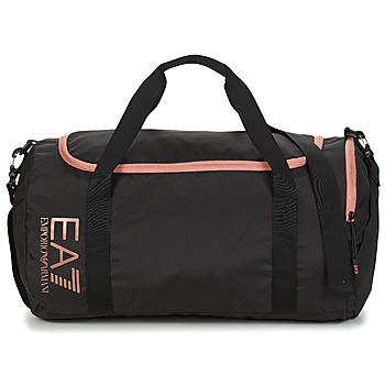 Tasker Herre Sportstasker Emporio Armani EA7 TRAIN CORE U GYM BAG SMALL Sort / Pink