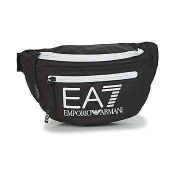 Tasker Bæltetasker Emporio Armani EA7 TRAIN CORE U SLING BAG Sort / Hvid