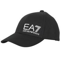 Accessories Herre Kasketter Emporio Armani EA7 TRAIN CORE ID M LOGO CAP Sort