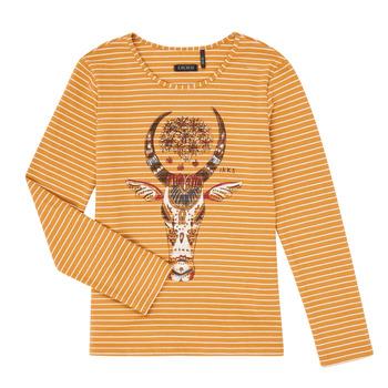 textil Pige Langærmede T-shirts Ikks XR10102 Brun