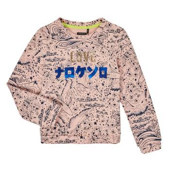 textil Pige Sweatshirts Ikks XR15022 Pink