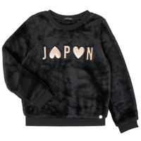 textil Pige Sweatshirts Ikks XR15042 Sort