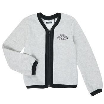 textil Pige Veste / Cardigans Ikks XR17062 Grå