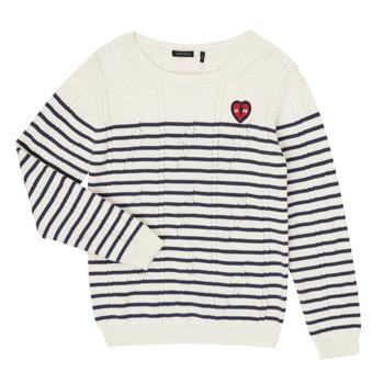 textil Pige Pullovere Ikks XR18032 Hvid