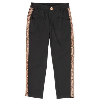 textil Pige Lærredsbukser Ikks XR22012 Sort