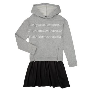 textil Pige Korte kjoler Ikks XR30112 Grå