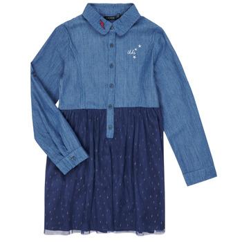 textil Pige Korte kjoler Ikks XR30122 Blå