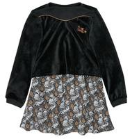 textil Pige Korte kjoler Ikks XR30162 Sort